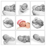 Collage van Newborn